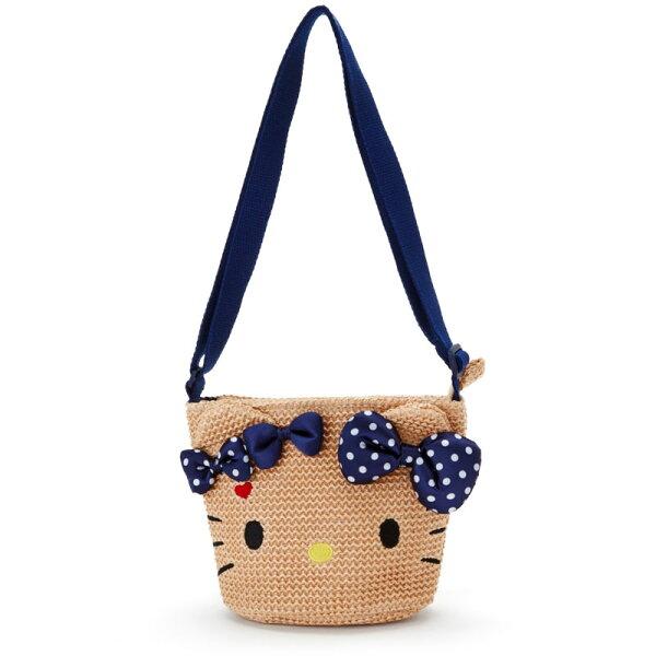 【真愛日本】18032700013造型斜背包-KT大臉ACF三麗鷗kitty凱蒂貓斜背包肩背包