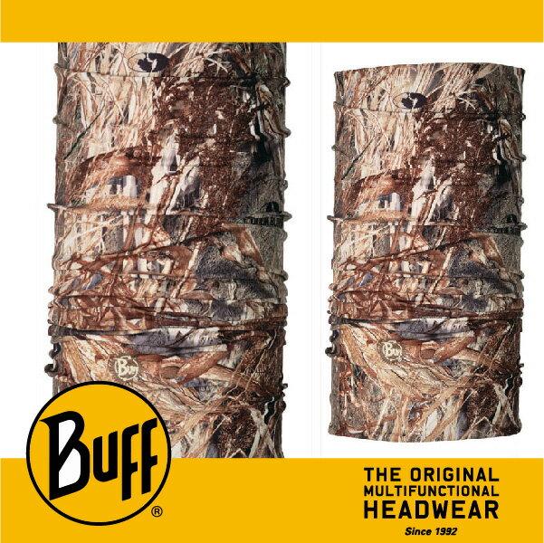 BUFF 西班牙魔術頭巾 COOLMAX涼感抗UV系列 [蘆葦草叢-橡樹迷彩] BF100548