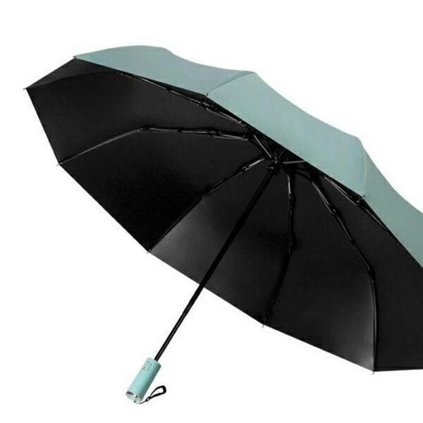 抗UV晴雨兩用 黑膠自動傘【大傘面!十骨耐用】自動傘 摺疊傘 折疊傘 遮陽傘 雨傘 陽傘 商務傘 晴雨傘