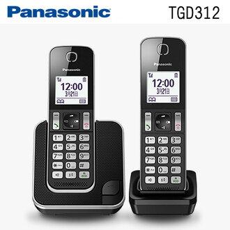 【現貨】國際牌Panasonic KX-TGD312TW(TGD312) DECT數位無線電話◆送10合1萬用充電線+環保筷