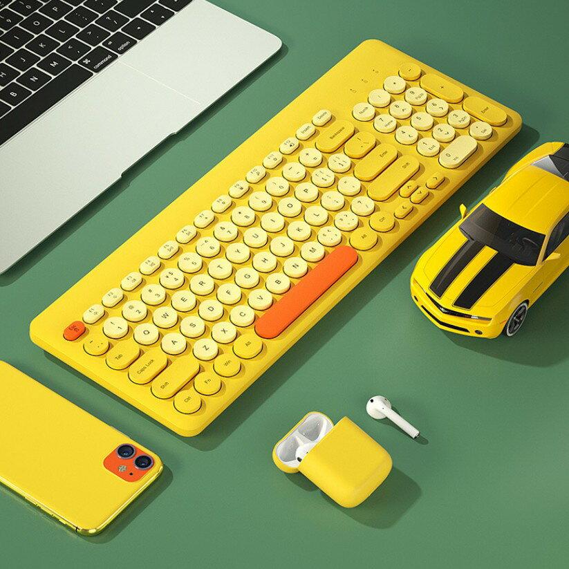 BOW 無線鍵盤 鍵盤 辦公鍵盤 筆記本電腦外接 無聲 靜音