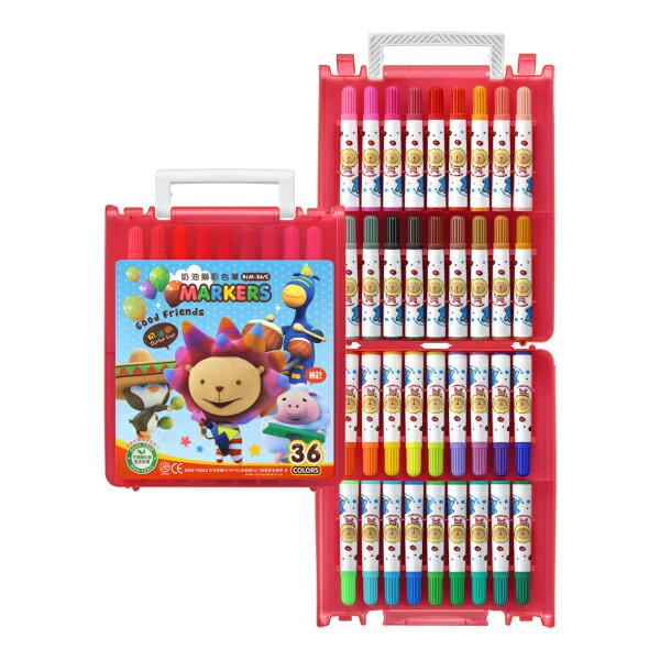 奶油獅36色彩色筆 B盒 ~閃亮亮  BLM~36B