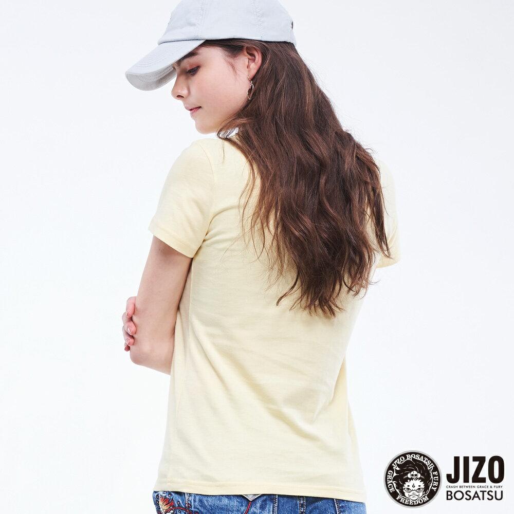【2020春夏新品】金魚姬晴天娃娃短TEE(淡黃)  - BLUE WAY JIZO 地藏小王 2