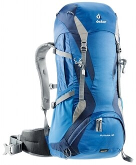 【露營趣】中和 送手電筒 德國 deuter 34254 Futura 32L+3L透氣網架背包 登山背包 健行背包