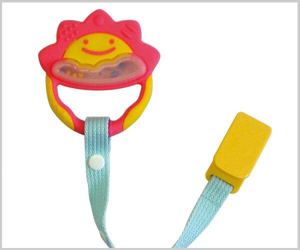 Richell利其爾 - 固齒器 粉紅色一般型 (附固定夾) 4