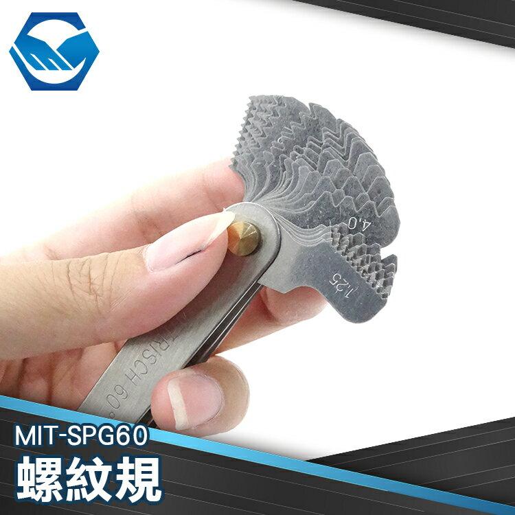 工仔人 螺紋環規 螺紋塞規 環牙規 量規 公英制 螺紋測量 硬質合金不鏽鋼 MIT-SPG60
