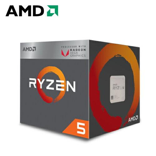 AMDRyzen5-2400G3.6GHz四核心處理器【三井3C】