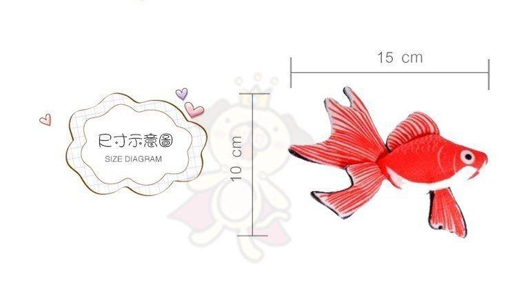 48小時出貨 寵喵樂 魚你同在一起《仿真小金魚 貓玩具》新鮮魚獲 魚魚內含貓薄荷 約15cm 5