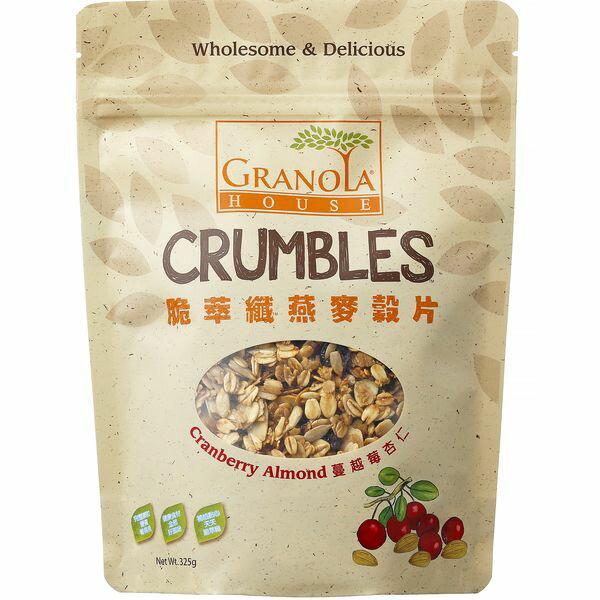 脆萃纖 蔓越莓杏仁燕麥片 325 g