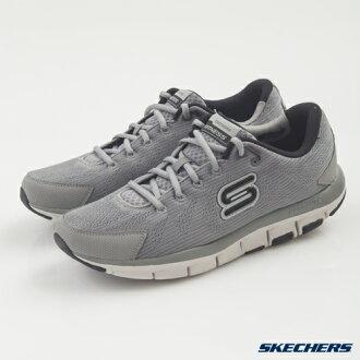 [陽光樂活] SKECHERS 男 跑步系列 智慧生活 LIV 記憶型泡棉鞋墊 - 999658GYBK