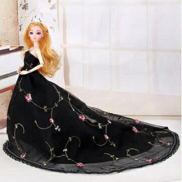 芭比娃娃 喜亞芭比洋娃娃套裝大禮盒女孩公主婚紗仿真精致兒童玩具單個【快速出貨八折下殺】 8號時光