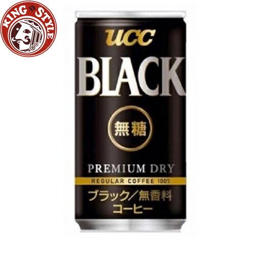 金時代書香咖啡【UCC】BLACK無糖咖啡 (185g)1罐