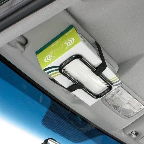 權世界@汽車用品 日本 NAPOLEX 面紙盒扣帶 固定架 JK-61