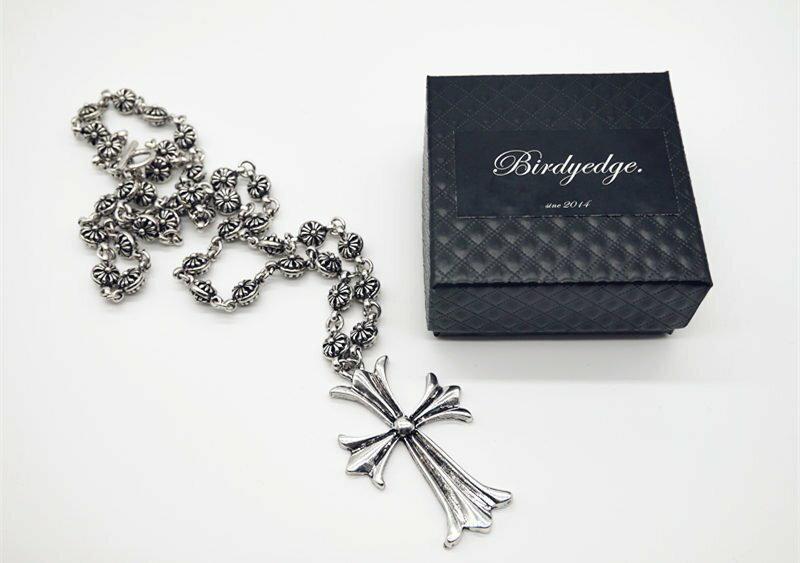BIRDYEDGE 品牌 克羅心 磅數 項鍊 重量版 十字架項鍊 耶穌 免運費