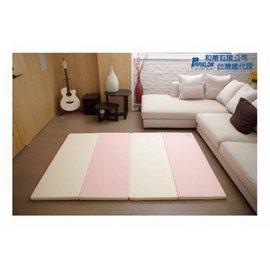 Parklon-大馬卡龍4色摺疊墊200*140*4cm 粉色 6200元【來電另有優惠】