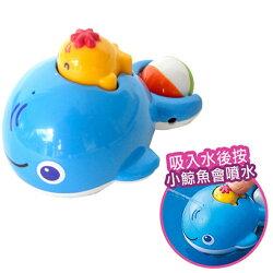 樂雅洗澡玩具噴水鯨魚