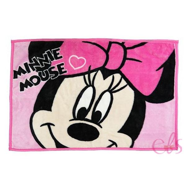日本 迪士尼 米妮 夏涼毯 空調毯 嬰兒毯子 兒童毛毯 70*100CM ☆艾莉莎ELS☆