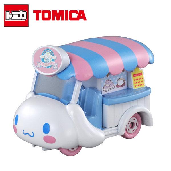 【日本正版】Dream TOMICA 多美小汽車 大耳狗 CINNAMOROLL 咖啡車 NO.147 汽車 玩具車 - 887232