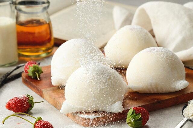 (免運)冬季限定聖誕甜點!草莓季限定~幸福草莓四宮格~小朋友最喜愛熊熊蛋糕,草莓起士派,Q軟麻吉雪媚娘及酥脆草莓泡芙~一次帶給你4種幸福享受 8