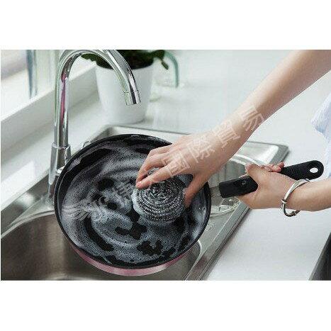 現貨◎ 鋼絲球刷  1包6個 超強去污鍋刷 不銹鋼鍋刷 去油不掉渣鍋刷 洗碗神器 鋼刷