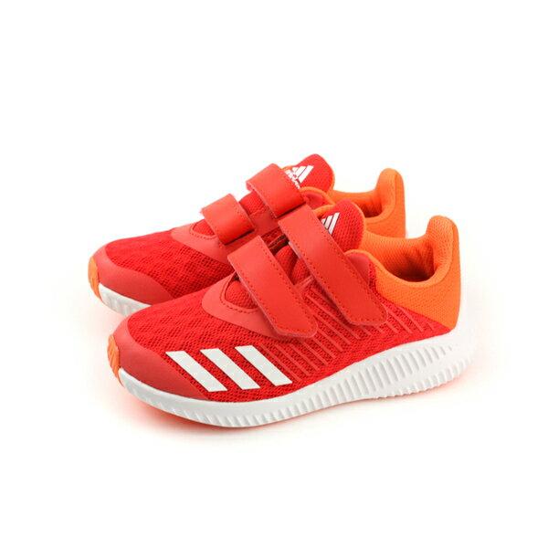 adidasFortaRunCFKwide慢跑鞋運動鞋紅色童鞋DB0230no535