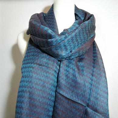((已售)) 喀什米爾圍巾】100%Pashmina鑽石編織珠光CASHMERE圍巾-(W10EIN006)
