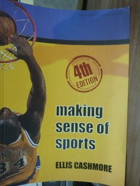 ~書寶 書T8/大學教育_PEA~Making Sense of Sports_4  e