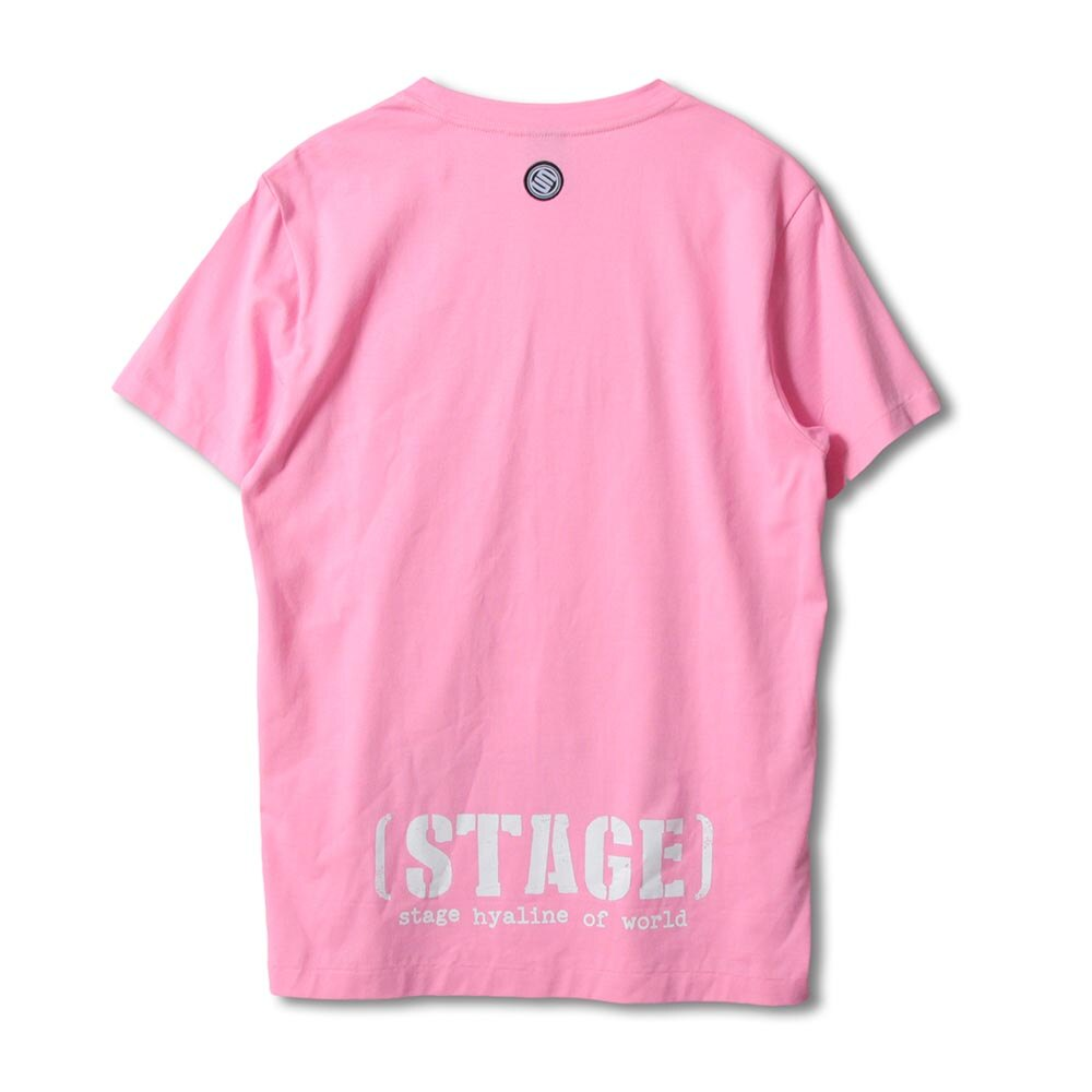 STAGE SNIPER SS TEE 黑色/粉紅色 兩色 5