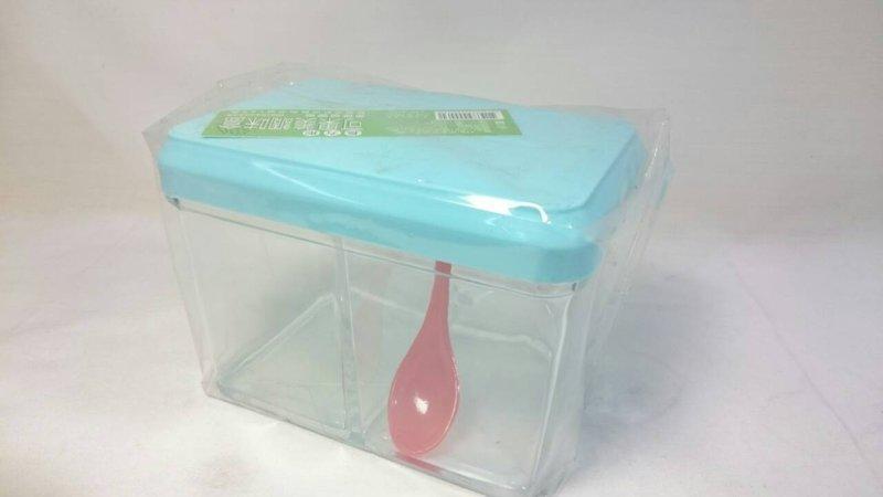 【八八八】e網購~【可果美調味盒】000030 調味罐調味盒 鹽巴盒 糖罐 味素盒