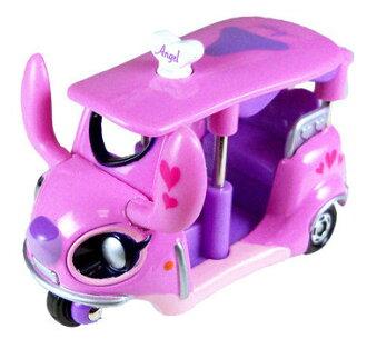 日本直送 Tomica 多美加 金屬小汽車 迪士尼 Disney 史迪奇女朋友 Angle 三輪頂棚機車款