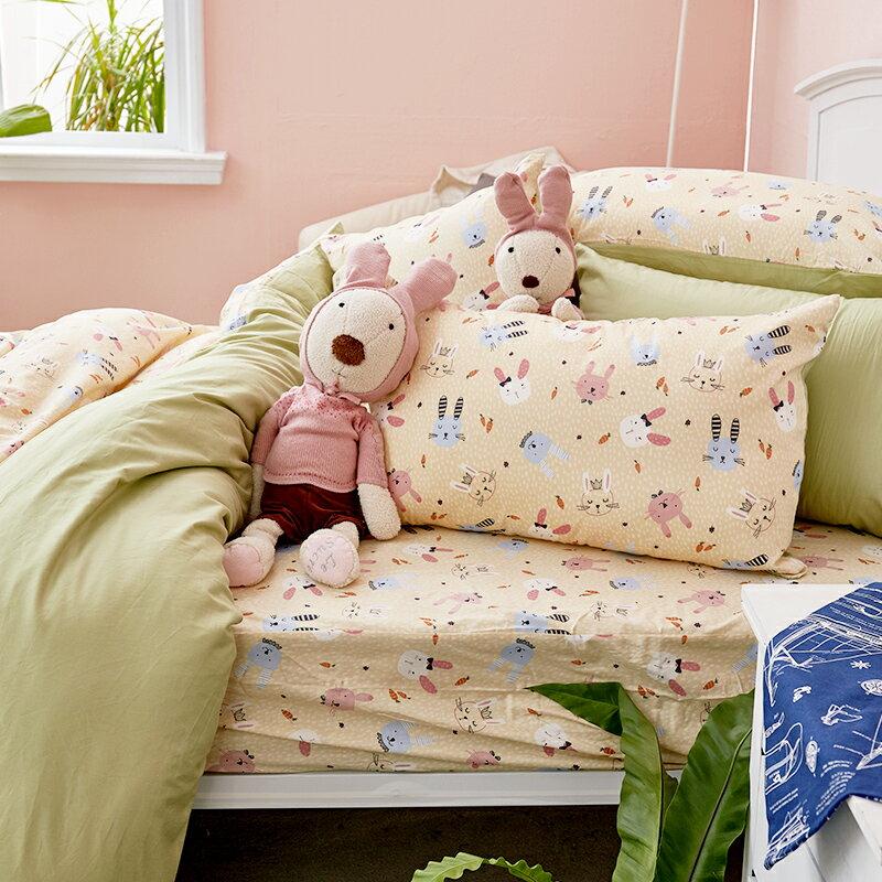床包  /  雙人-100%精梳棉【妮妮公主】含兩件枕套 戀家小舖 好窩生活節  台灣製 3