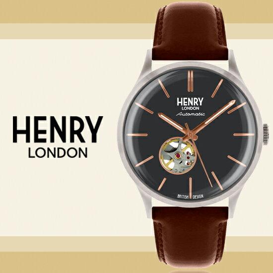 HenryLondon英國前衛品牌HERITAGEAUTOMATIC腕錶HL42-AS-0281公司貨