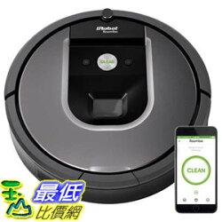 [107美國直購] 新上市 iRobot Roomba 960C  WiFi 第9代機器人支援APP 遠端控制掃地機/吸塵器