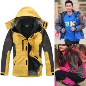 *vivi shop*跑男款專櫃正品syrinx 防風禦寒雪衣外套 登山 騎車下雨防潑水抓絨外套 兩件式三穿法機能外套