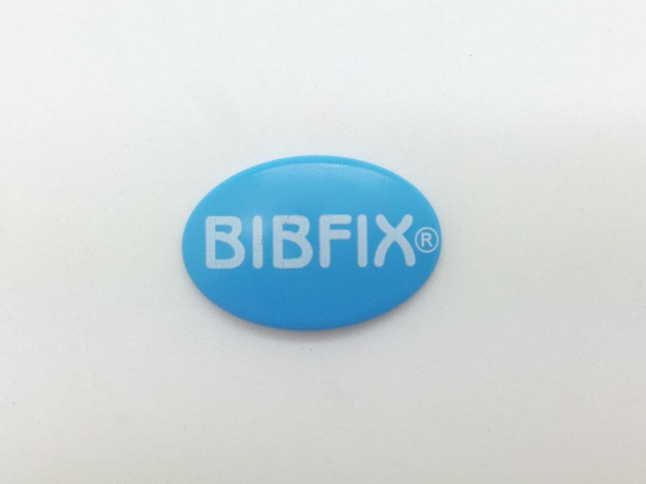 Bibfix號碼布塑膠扣 (淺藍)