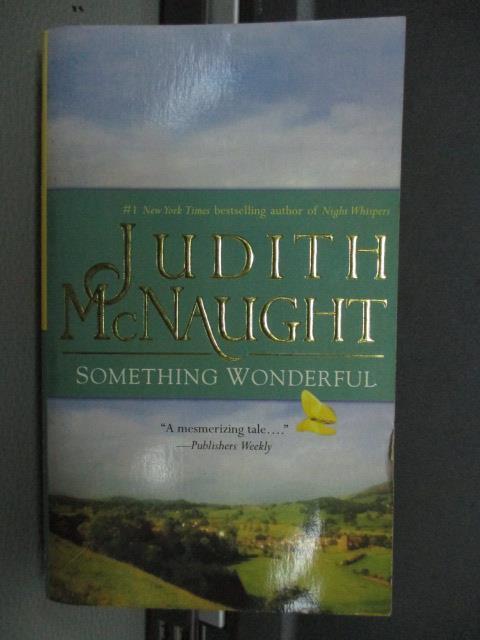 ~書寶 書T5/原文小說_MRY~Judith McNaught_Something Wo