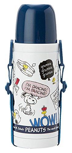 X射線【C962329】史努比不鏽鋼瓶380ml,隨手瓶/保溫杯/直飲式水壺/保冷保溫/環保