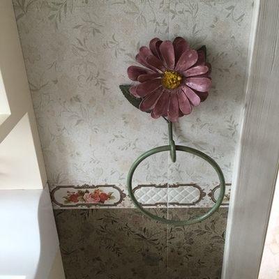 法式時尚紫羅蘭毛巾掛鉤大(15.5*7*18.5cm)