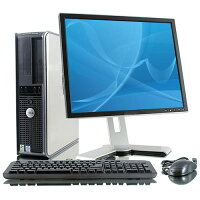 Dell OptiPlex 745 Intel Core 2 Duo 1.80 GHz, 4GB RAM, 80GB HDD DVD-ROM Windows XP Professional + 19