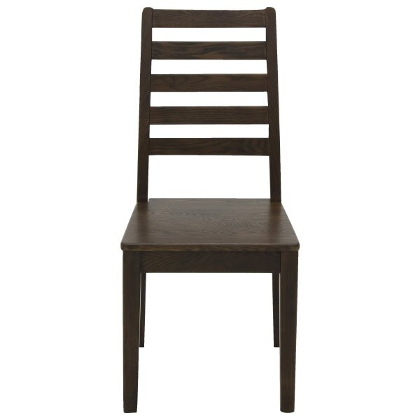 ◎(OUTLET)實木餐椅 VIK DBR 福利品 NITORI宜得利家居 1