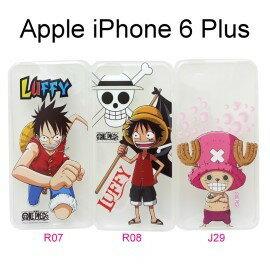 海賊王透明軟殼 iPhone 6 Plus / 6S Plus (5.5吋) 航海王 魯夫 喬巴 保護殼【台灣正版授權】