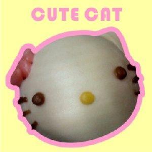 【蔡家手作Q包子饅頭】可愛貓芋頭麻糬包*6入可愛控的最愛