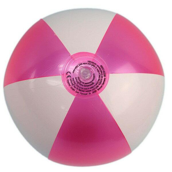 珠光雙色海灘球吹氣海灘球沙灘球直徑約27cm一袋12個入{促40}充氣玩具球充氣球~YF15430