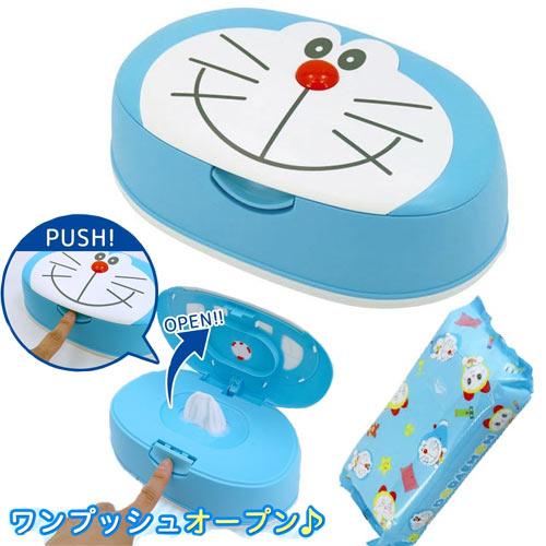 【日本正版】哆啦A夢日本製濕紙巾盒濕紙巾DORAEMON小叮噹-482753