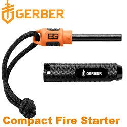 Gerber Bear Grylls Compact Fire Starter 貝爾系列袖珍打火石/野外求生 31-002554