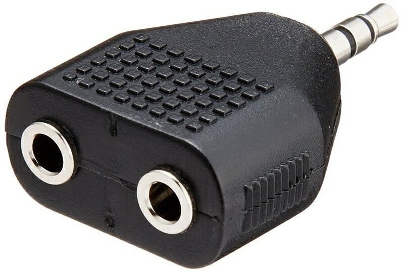 又敗家@日本鐵三角Audio-Technica鍍金立體聲頭單3.5mm-雙3.5mm情侶耳機分線器ATL425CS音源轉接頭 1公轉2母耳機轉接頭 1分2耳機轉接頭 一分二轉接頭 1對2音源分享器