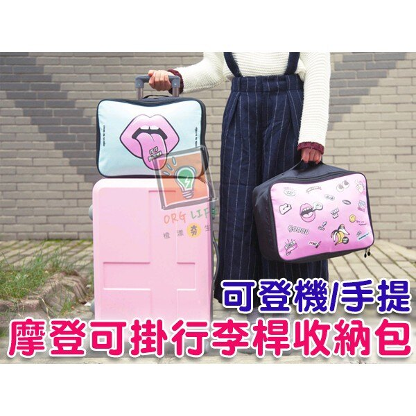 ORG~SG0202~摩登感~ 可登機 旅行 旅遊 出國 出遊 自由行 收納包 旅行袋 衣
