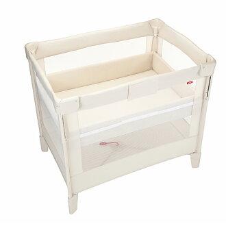 Aprica愛普力卡 - COCONEL Air 任意床(可攜帶式嬰兒床) -牛奶白