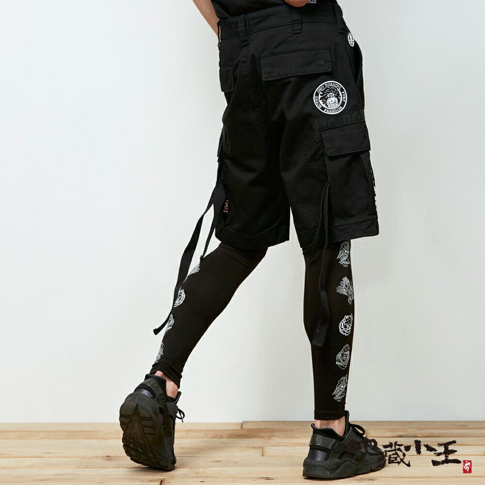 【春夏新品】多重織帶工業風格短褲 - BLUE WAY 地藏小王 1