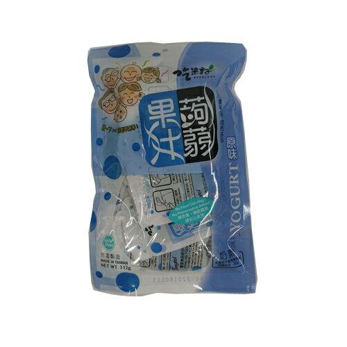 TW吃果籽優格果汁蒟蒻312g【愛買】